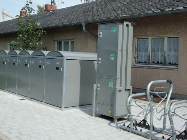Dviračių įkrovimo stotelės Energy Safe