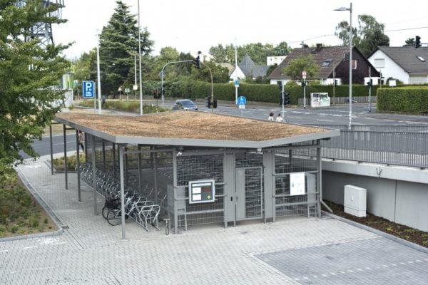 Dviračių parkavimo priestatas Hostel